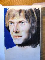 Bowie sketch by graphicnovelgirl