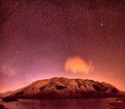 Wasdale Screes by Starlight by Capturing-the-Light