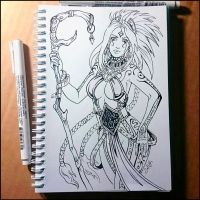 Sketchbook - Seoni (NSFW on Patreon) by Candra