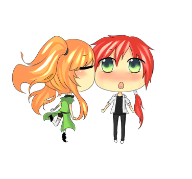 request : taosori and miki by quility