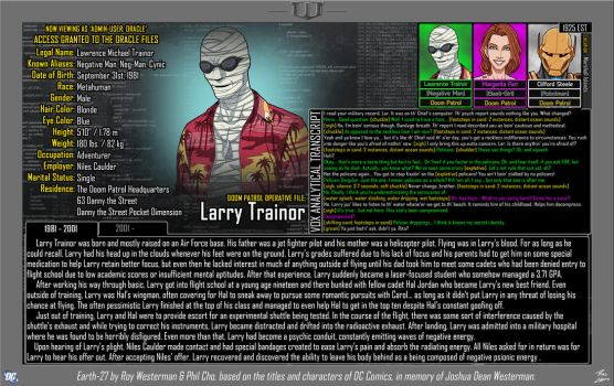 [Earth-27: Oracle Files] Larry Trainor (Part 1) by Roysovitch