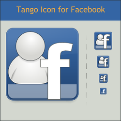 Tango Facebook Icon by DarKobra