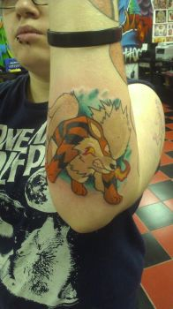 arcanine swag by deathtattoo83