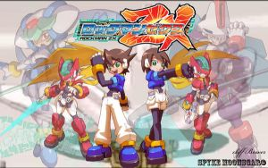 Megaman ZX Background 1 by Spyke89