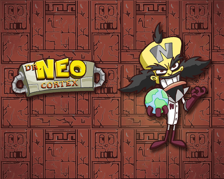 Dr Cortex Wallpaper High-Res by E-122-Psi