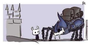 Hollow Knight, doodles 11 by Ayej