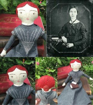 Emily Dickinson Doll by Charis