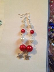 Xmas Earrings for Julie by SekseeDragoness