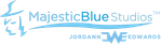 MajesticBlue Studios logo by JWthaMajestic