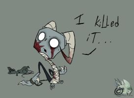 I Killed It. . . by The-Snowlion