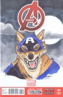 Capwolf by Pencilero
