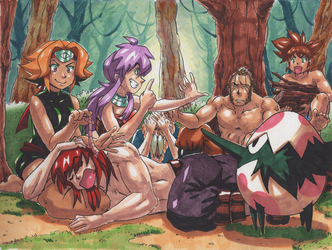 DDD - Dan and Dina's Group by oNichaN-xD