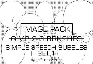 speech bubbles 3 image pack by asifalittlezonked