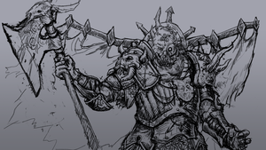 Nurgle WiP by KidneyShake