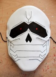 Aogiri Tree from Tokyo Ghoul leather mask by ShadowFoxLeatherwork