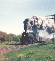 Milwaukee Road 261 on the road by PRR8157