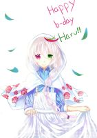happy b-day Haru!!!!! by O-hikaku