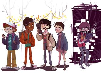Stranger Things by DogPaw8