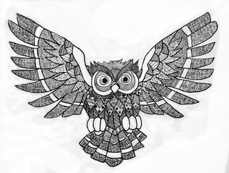 Owl by Effervescent-Dream