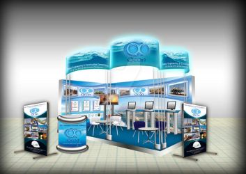 Booth For Tradeshow by Graphikista