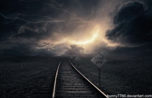 Surreal Stormy Scene by Bunny7766