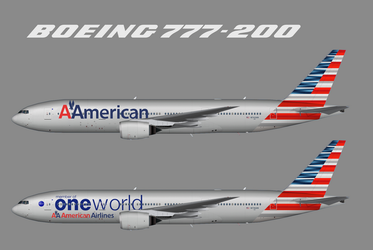 The new American livery with the Vignelli logo by WinginWolf