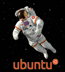 Ubuntu Spaceman by Rasa13