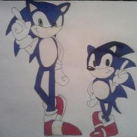Sonic and... Sonic? by TeamOf1