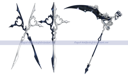 Commission: Scissors and Scythe by Forged-Artifacts