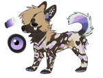 Smol Wild African Doggo Auction  Open  By D3usvult by Gangstersss