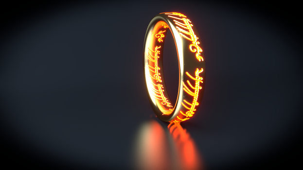 :: THE ONE RING :: by VincentXyooj