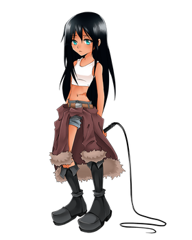 Shaman King OC by DepressiveRami