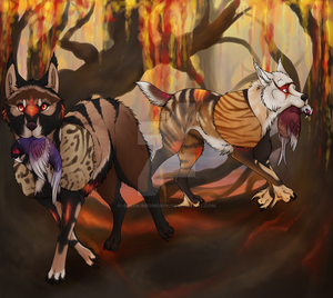 The Hunt - Commission by Queen-Neomorph