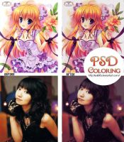 Dark Purple PSD COLORING by Suki95