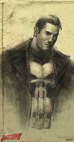 Punisher by CarlosAmaralArt