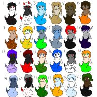 Cheap Naga Adopts OPEN by Fluffy-Puppys-Adopts