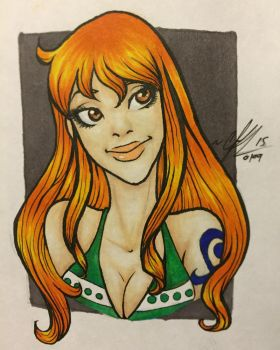 Cat Burglar Nami by RaeQuinnArt