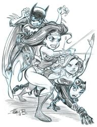 DC Heroines for 2013 by tombancroft
