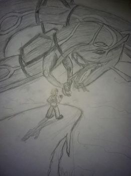Rayquaza has Appeared by loonieboy