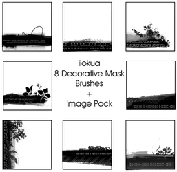 8 Mask  Brushes by iiokua