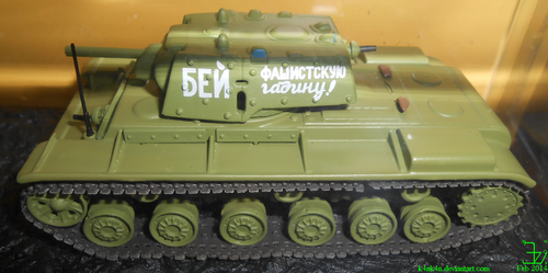 KV-1E _ 109th Armoured Division 43rd Army (1941) by K4nK4n