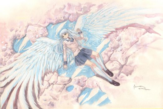 Kanade Tachibana: Angel on Earth by Nick-Ian