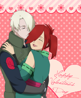 Happy Valentines Day: ZenshinxAkina by anniberri