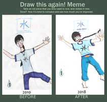 Improvement meme: Heir of water by juha91