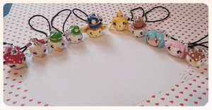 Animal crossing new leaf charms by FairysLiveHere