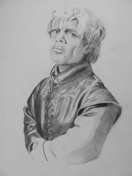 Tyrion Lannister (unfinished) 2 by Billionairere