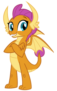 Smolder the Dragon by cheezedoodle96