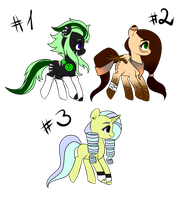 [CLOSED] Pony Adoptables #6 by Asembr-A
