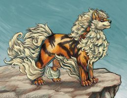 Arcanine Commission by mikadove