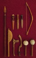 My Little Collection Of Egyptian Weapons by AtriellMe